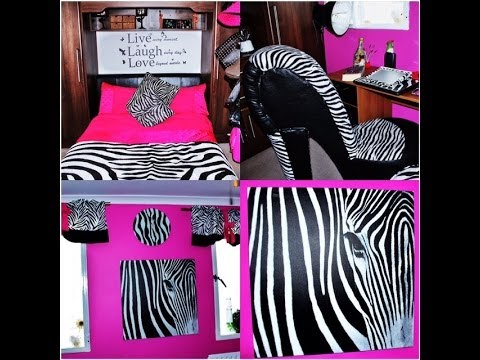 Room Tour Zebra And Pink