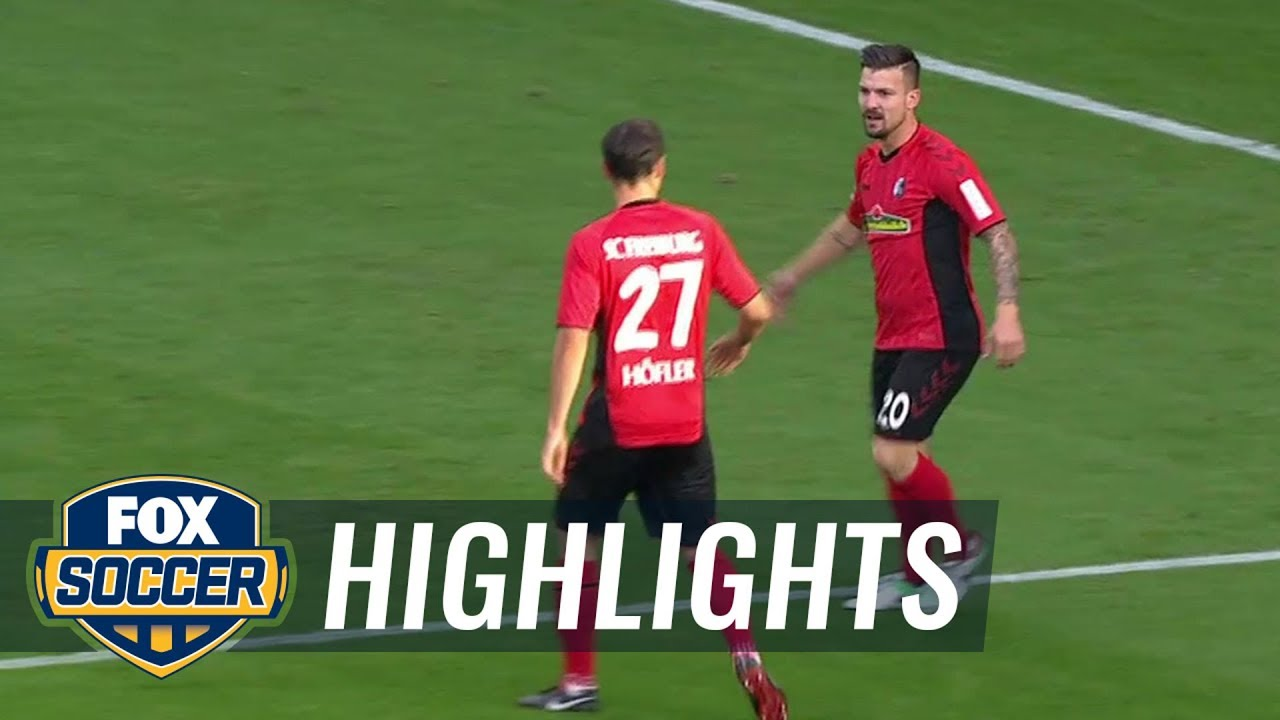 Jerome Gondorf scores fastest goal of the season vs. VfB Stuttgart | 2018 Bundesliga Highlights