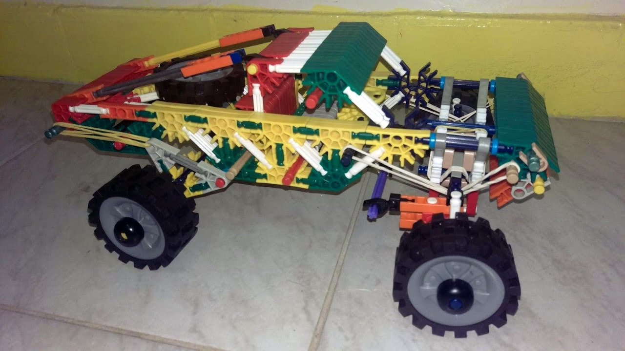 K Nex Truck Toy Youtube