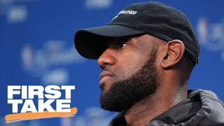 Should LeBron James Want Out Of Cleveland Cavaliers? | First Take | June 22, 2017