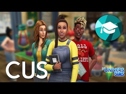 Les Sims 4 à la fac - Le mode CUS
