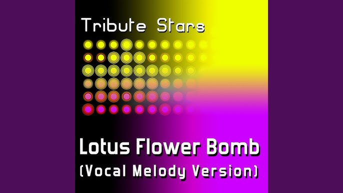 Wale Feat Miguel Lotus Flower Bomb Vocal Melody Version Youtube