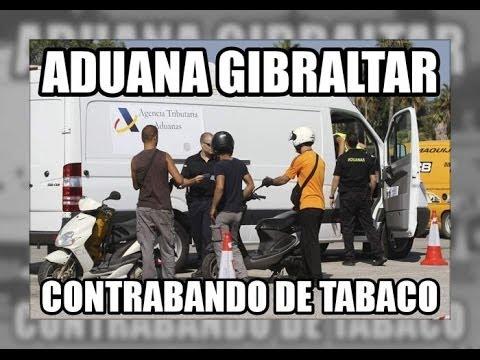 Aduana Gibraltar, contrabando de tabaco 19/10/13 - Vigilancia Aduanera(SVA)