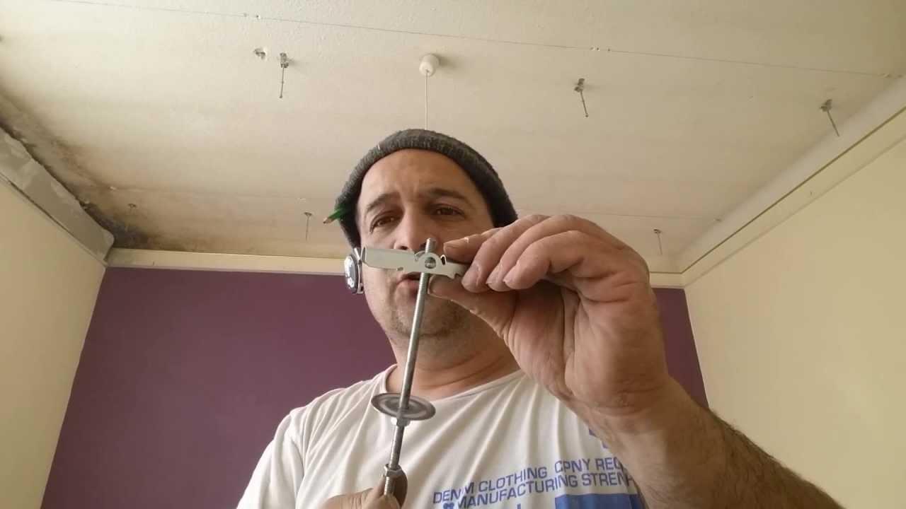 faux plafond suspendu la fixation par bascule