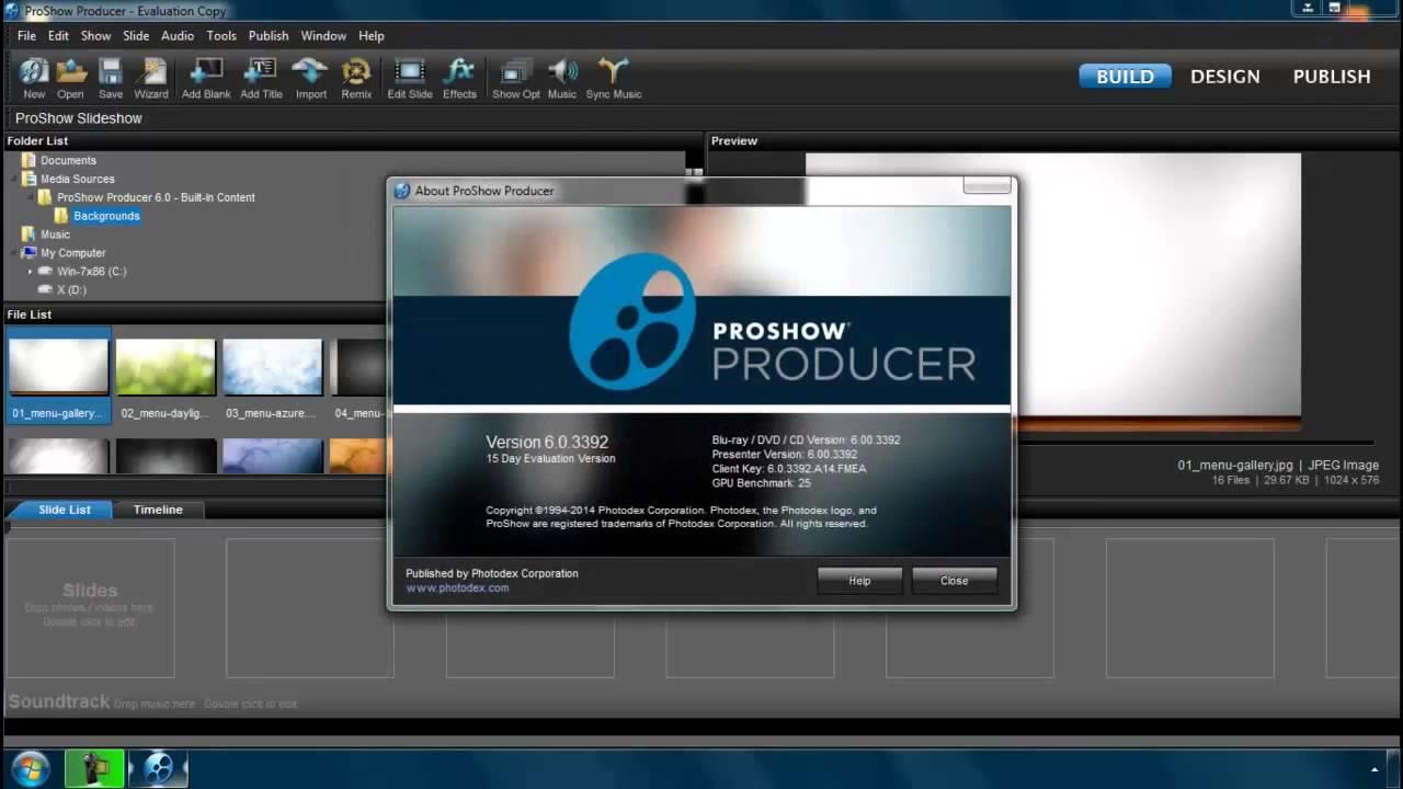 Скачать бесплатно ключ к proshow producer