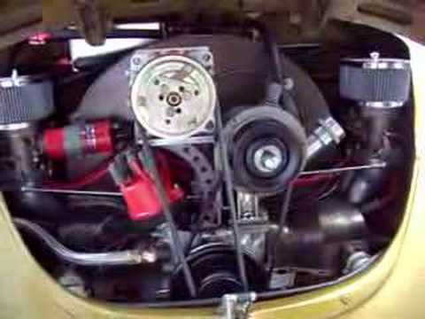 Center mount Air conditioner system for VW BUG - YouTube