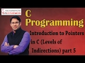 C Programming 13 Levels of Indirections in Pointers