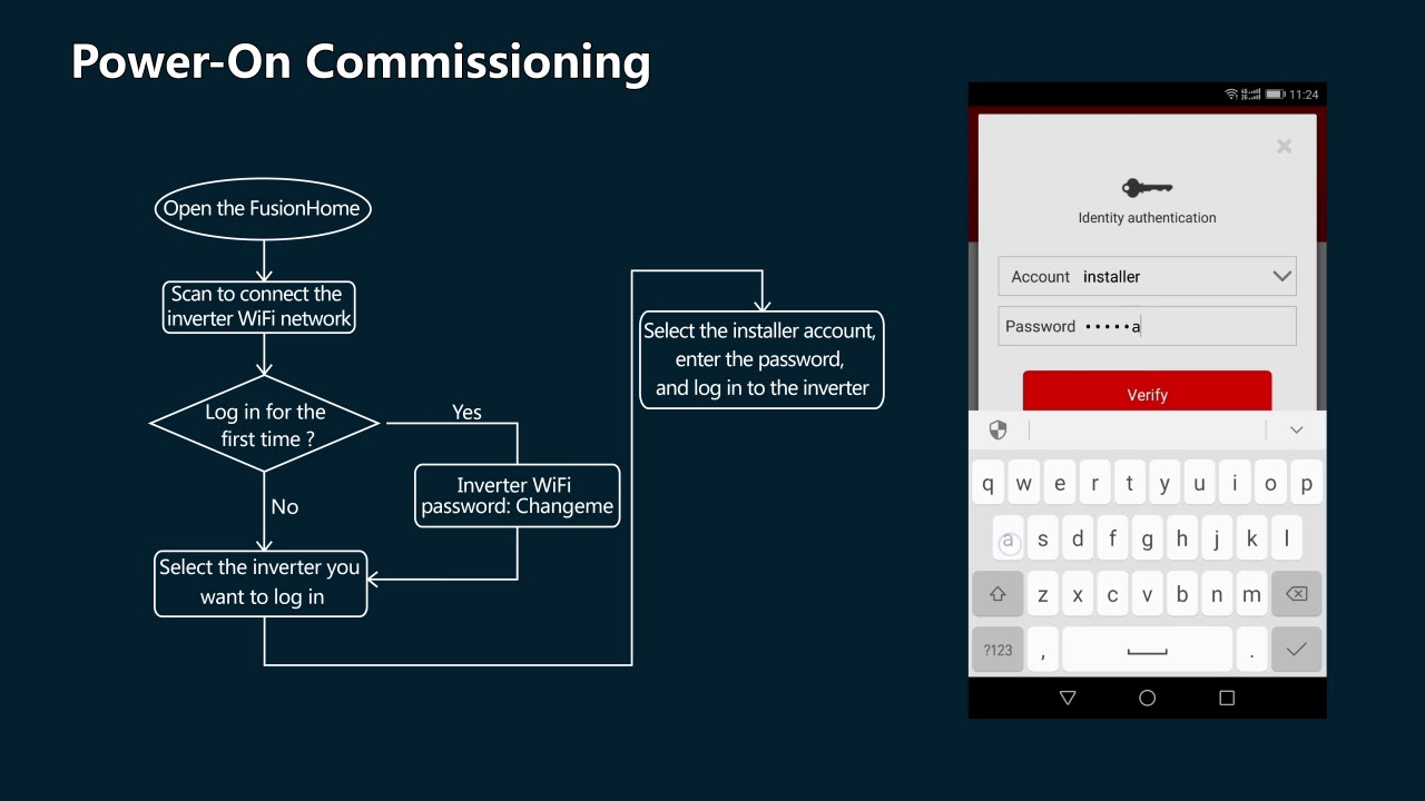 Huawei FusionHome Quick Setting Guide (Android)