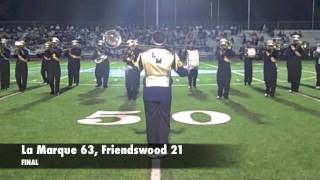 Football highlights Texas City, La Marque and Friendswood