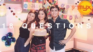 VJ Sharlene answers 18 questions for her 18th birthday!