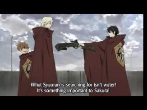 syaoran awakes