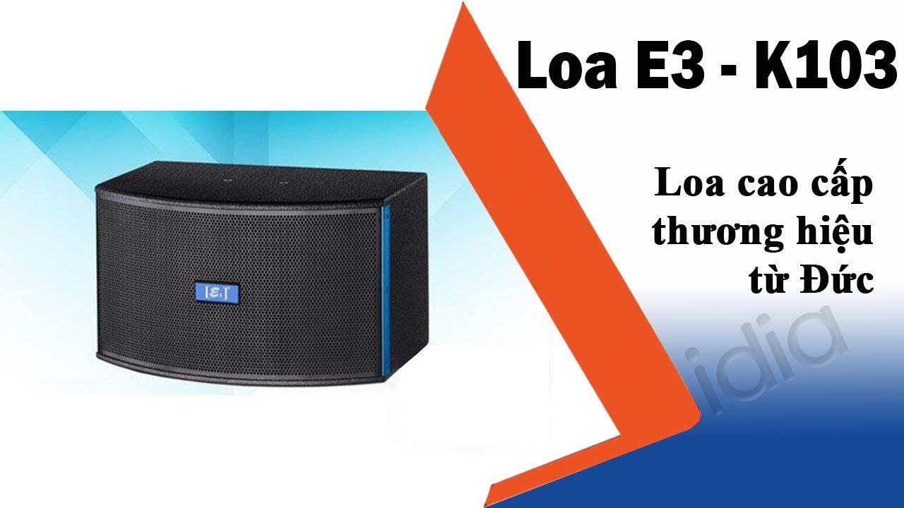 Trải nghiệm dòng loa đa năng 3in1: vừa nghe nhạc, hát karaoke, xem phim - E3 K103