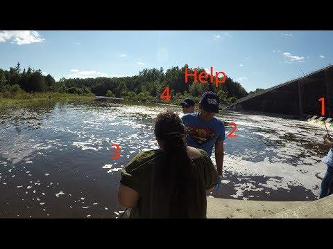 Under The Dam Fishing-Bellwood Lake