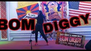 Bom Diggy Dance Performance | Zack Knight x Jasmin Walia |
