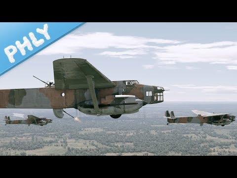 FRENCH BAGUETTE BOMBER - N.C. 223.3 (War Thunder French Bomber Gameplay)