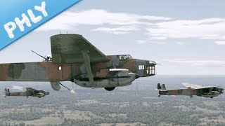 FRENCH BAGUETTE BOMBER - N.C. 223.3 (War Thunder French Bomber Gameplay)