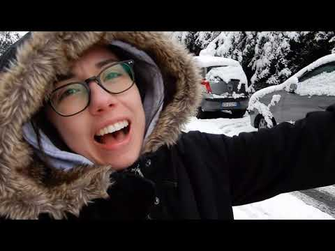 Vlog in Italian #66: la neve a Roma ☃️