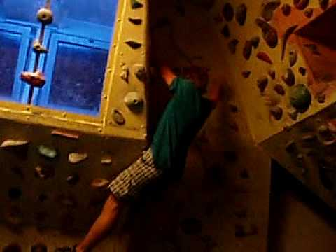 Michal climbing on boulder wall - YouTube d68e31bfccc