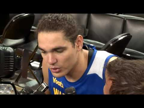 Former Cleveland Cavalier Anderson Varejao on his emotions when playing his former team