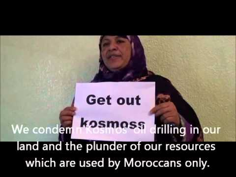 Kosmos Energy: Get out of occupied Western Sahara