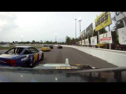 T.j. Schinke #62 Factory 4 Heat Race Lake County Speedway
