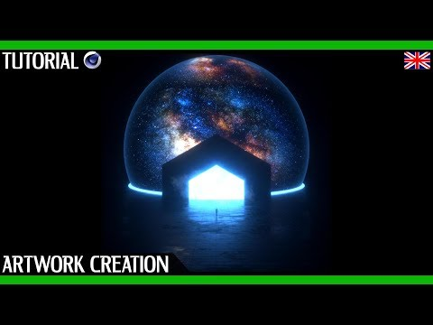 Cinema 4D Tutorial Octane Render | Space Scene Artwork Creation | With Project File