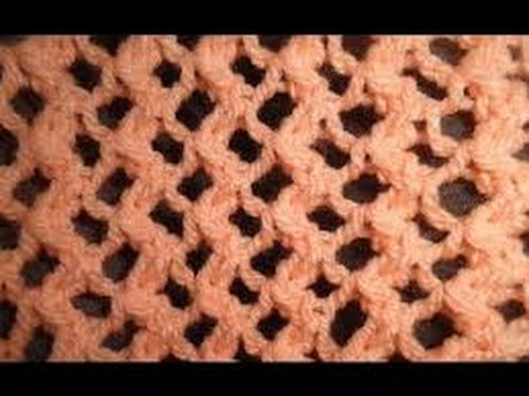 Knit Pattern Easy Lace Pattern For Beginners Youtube