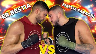 MATTIA FARAONI VS ER BESTIA | Sparring di Kickboxing devastante!