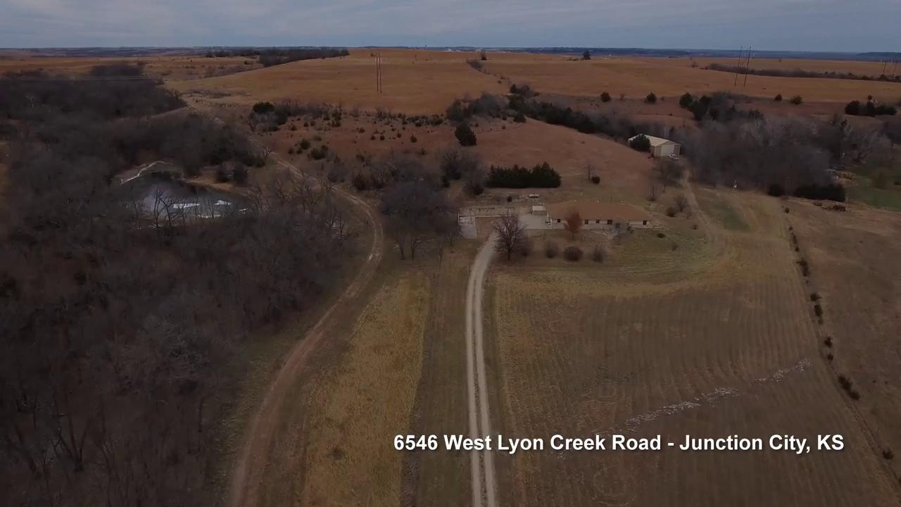 6546 West Lyon Creek Road - Junction City, KS - YouTube