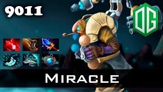 Miracle Tinker - 9011 MMR Ranked Dota 2