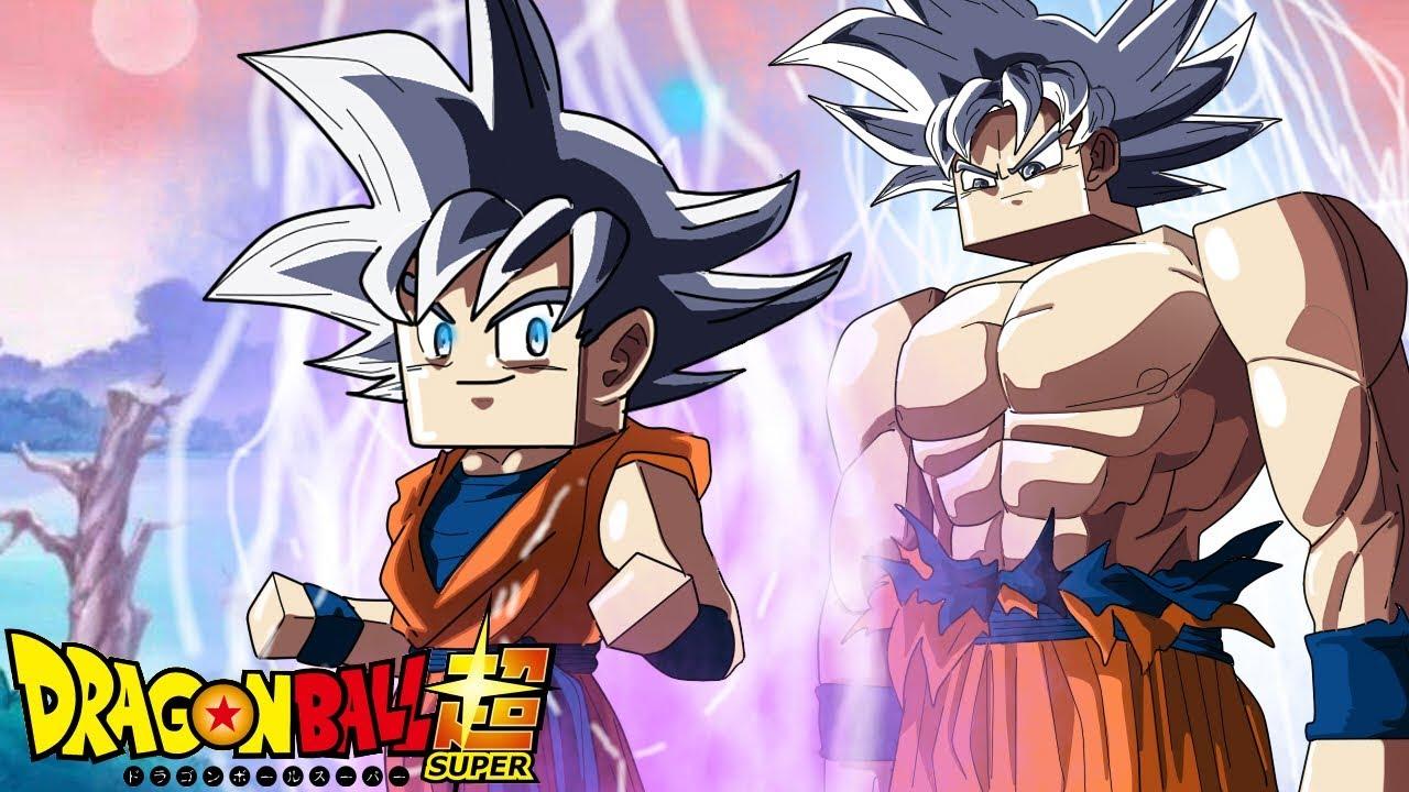 Minecraft Whos Your Family Filho Do Goku Instinto Superior Dragon Ball Super
