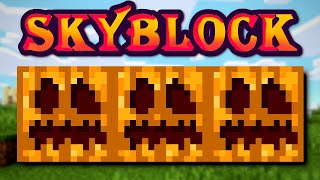 #82 in Pumpkins and Rising Fast | Hypixel Solo SkyBlock