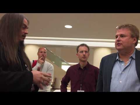 A snippet from my visit to Baptist Theological Seminary