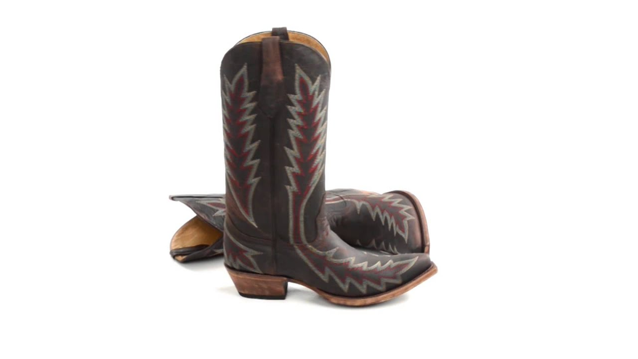 77f185386 Johnny Ringo by Cinch Thunder Cat Cowboy Boots - Pointed Toe (For Men)