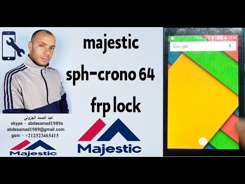 Repeat majestic sph-crono 64 frp lock bypass google account