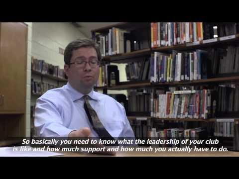 Advice to Teachers and Club Advisors Clip 4