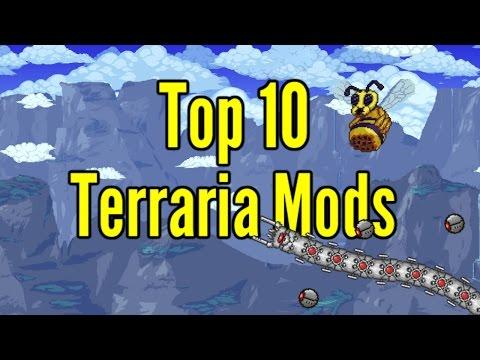 Top 10 Terraria Mods 2017- Terraria 1 3 4 - YouTube