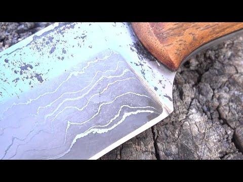 Forging A San Mai Knife