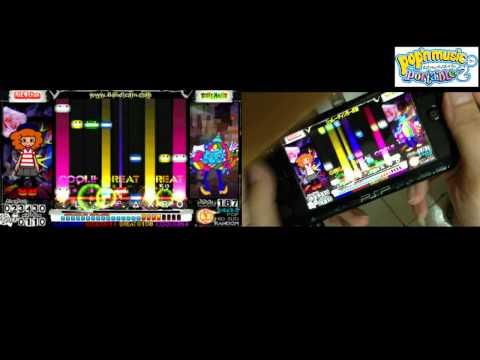 [PSP][PMP2][手元動画] Pop'n Music Portable 2 - TOY CONTEMPORARY [EX][RANDOM]