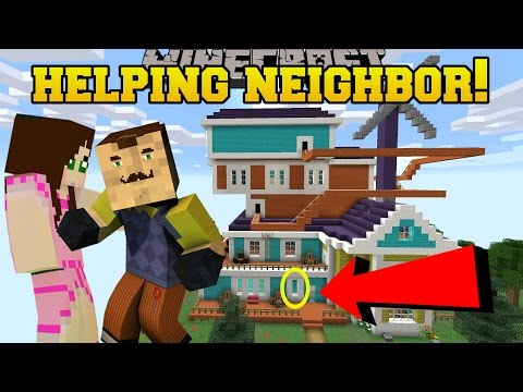 Thumbnail: Minecraft: HELPING OUR EVIL NEIGHBOR!!! - Custom Map