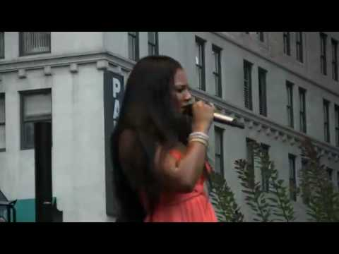 "Ashanti ""The Way That I Love You"" At J&R's MusicFest 2008"