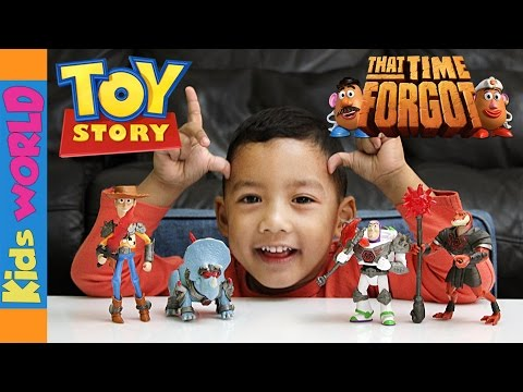 Woody & Buzz Lightyear | Toy Story That Time Forgot Toy Unboxing