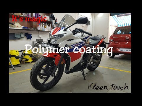 It's Magic   Polymer Coating for Bikes   CBR250R   Kleen Touch Detailing