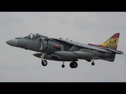 Hovering Harrier Duo At RIAT- Spanish Navy EAV-8B Harriers