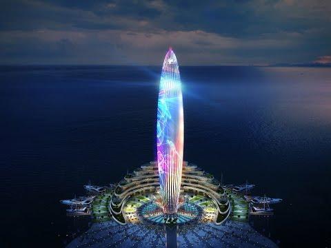 """Dubai Harbour"" Dubai's new iconic development by Meraas"
