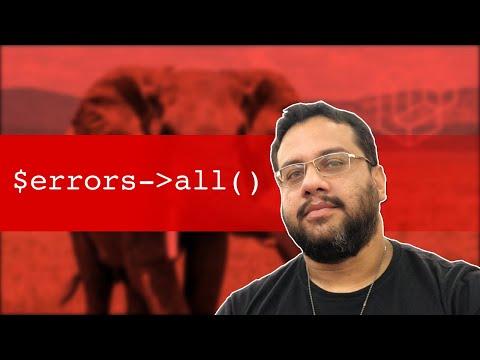 Vídeo no Youtube: 1-3 Exibindo Erros de Validação | Laravel Mastery #php #laravel