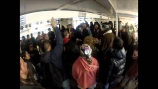 dennis banks sings aim song for leonard peltier walk for human rights