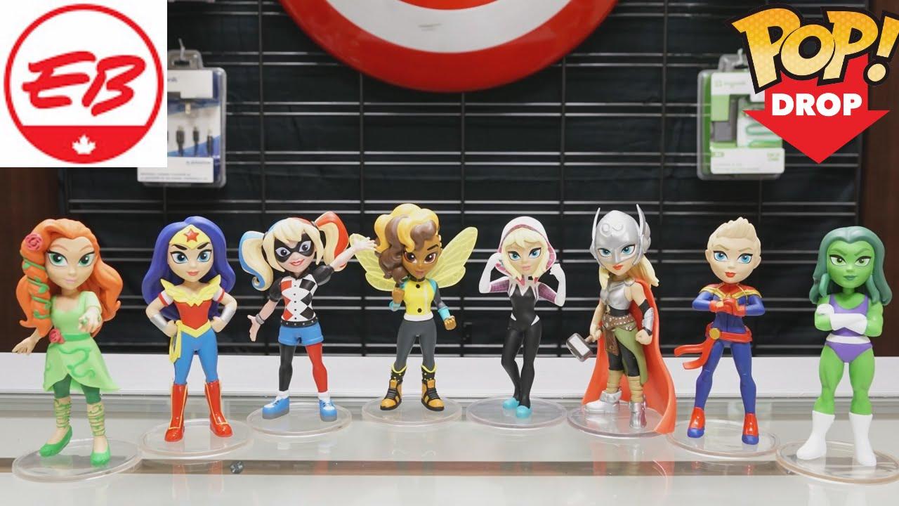 Harley Quinn DC Super Hero Girls Rock Candy Funko Vinyl Figure