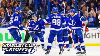 Dave Mishkin calls Lightning highlights from win over Devils (2018 Playoffs, Game 5)