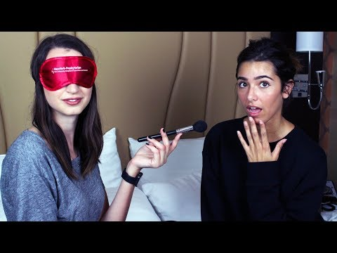 Gibi Does ASMR Glow's Makeup...Blindfolded